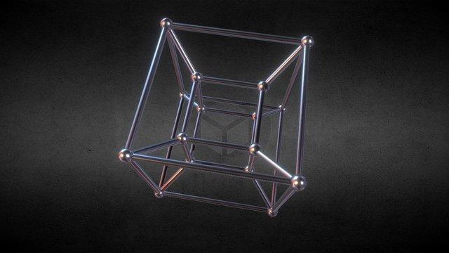 [Animation] Tesseract 3D Model