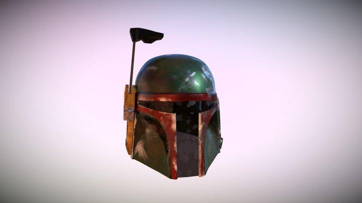 Helmet Boba Fett 3D Model