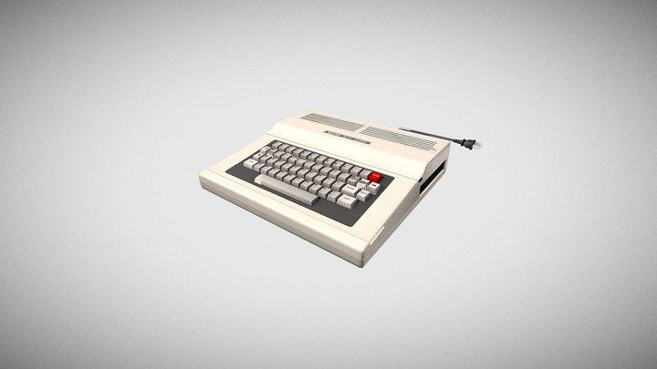 TRS-80 Color Computer 2 3D Model