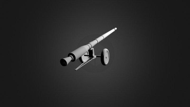 cañon.blend 3D Model