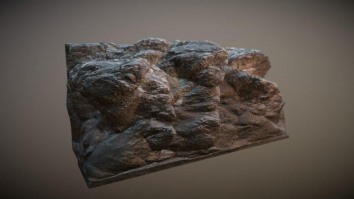 [Test] Sculpted Cliff #2 3D Model