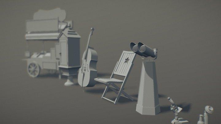 homework 1.3 3D Model