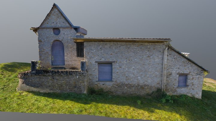 Hermitage in Rambouillet's Castle parc (France) 3D Model