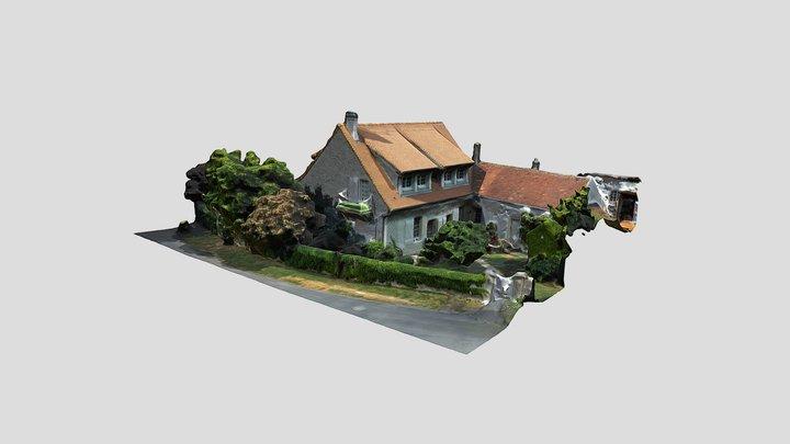 Rose&Serge'sHouse 3D Model