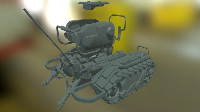 Sentry WIP 3 3D Model