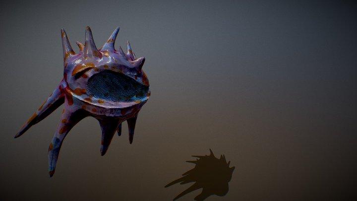 Alien Mussel 3D Model
