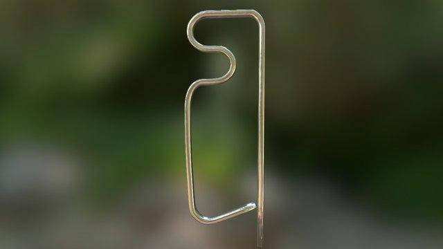 Clip #8040 3D Model