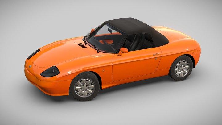 Fiat Barchetta, 1996 3D Model