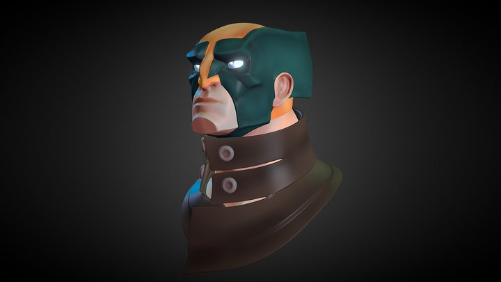 Wolverine Sharp&Flat 3D Model