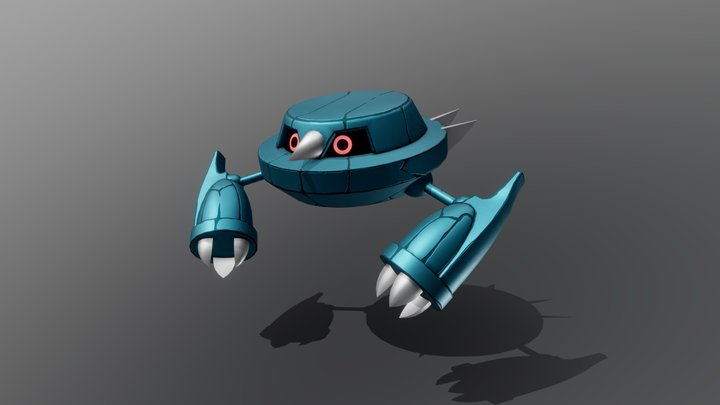 Metang - Pokémon 3D Model