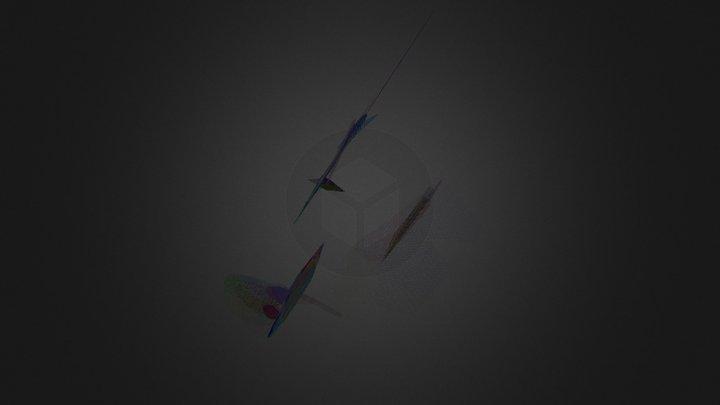 3dmap Plane C 3D Model