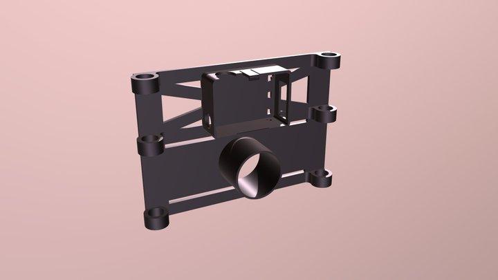 Matrice Go Pro Piccolo Down Frame 3D Model