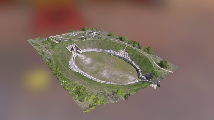 Anfiteatro romano AF 3D Model