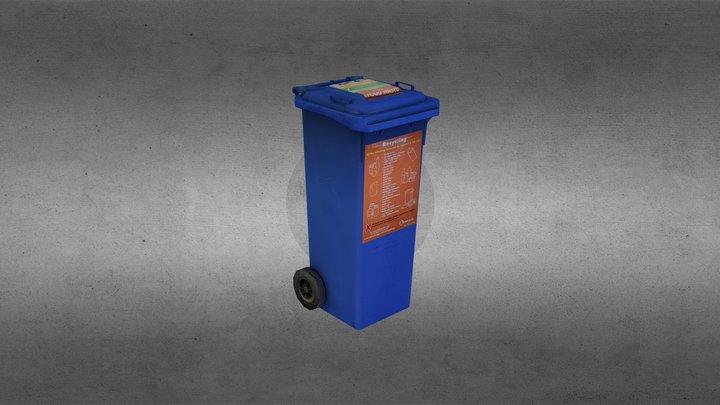Wheelie_Bin 3D Model