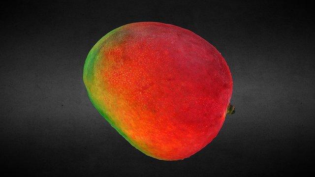 Fruit - Mango #3DScanFruitVeg 3D Model