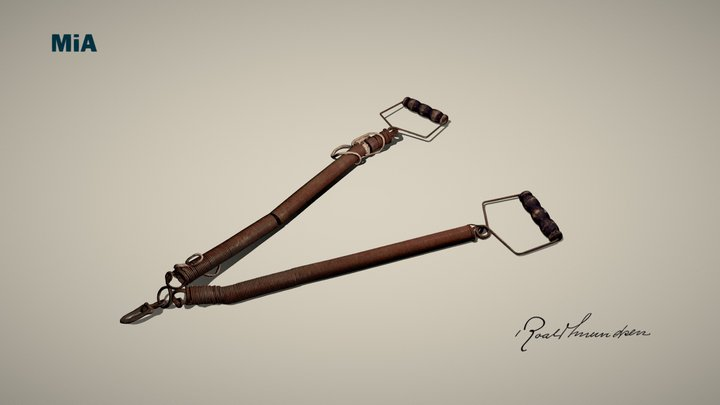 Treningsfjær/ Training springs 3D Model