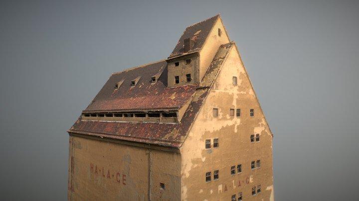 Abandoned Building: Speicher Leipzig Lindenau 02 3D Model