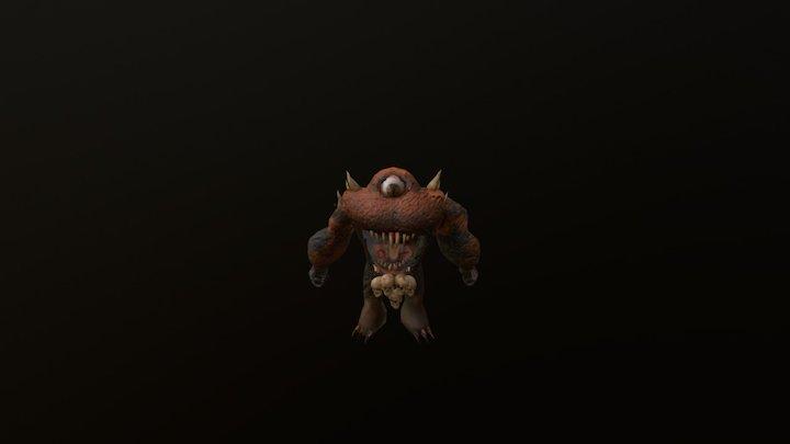 Mapinguari - Brazil Folklore - Game Character 3D Model