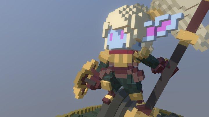 Poppy, keeper of the hammer 3D Model
