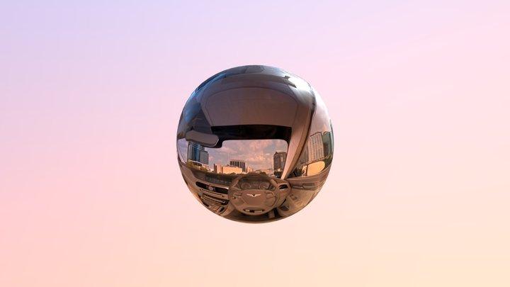 Panorama Sphere D4 3D Model