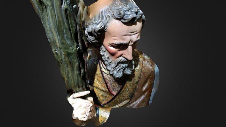 Scan of restored sculpture by Kasimir Szekeres 3D Model