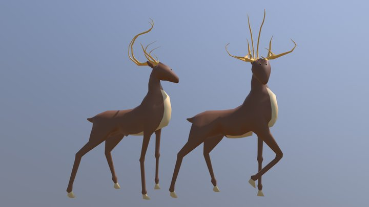 Cervi 3D Model