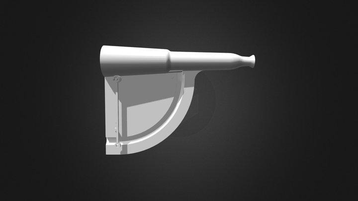 Clinomètre du 19ième siècle 3D Model