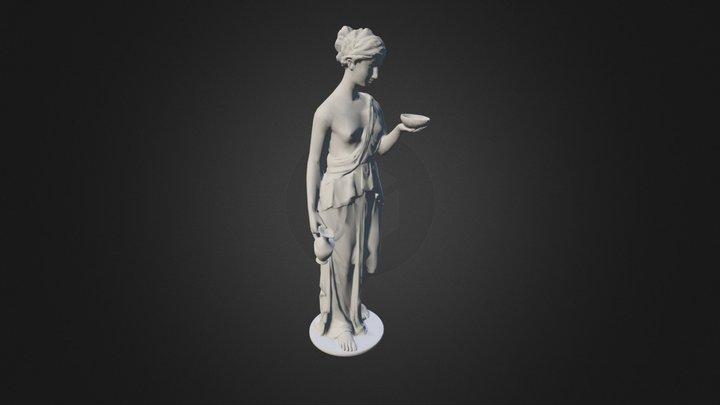 65aphrodite-statue High 3D Model