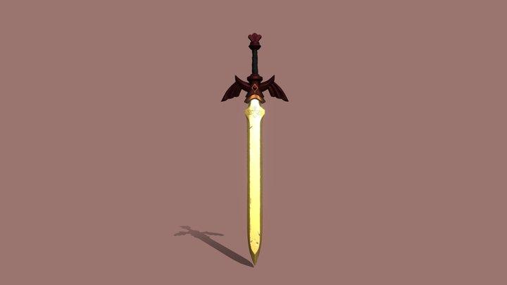 DS - Royal Blood Master Sword 3D Model