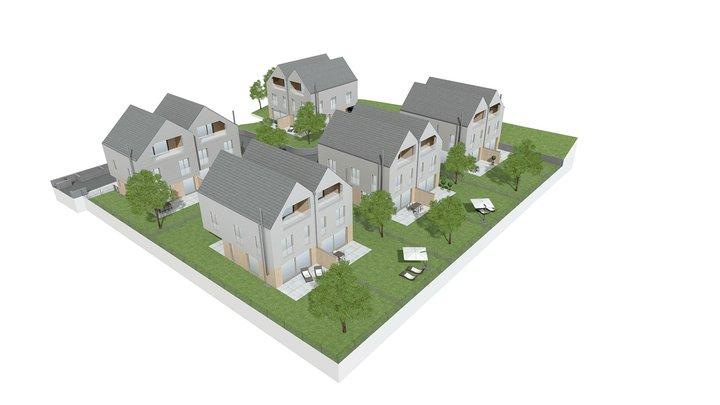 RhombergBau - Duett an der Heide 3D Model