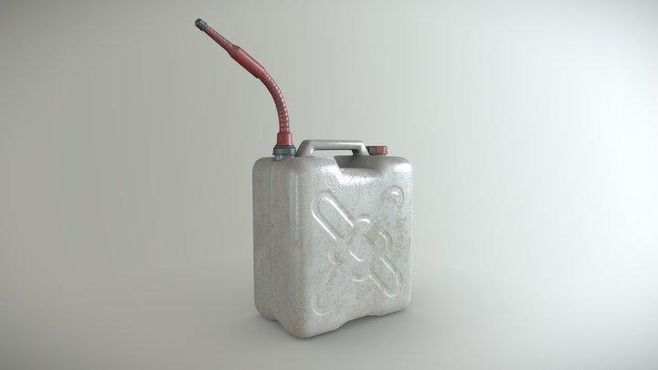20L OIL bottle 3D Model