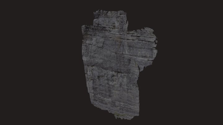 Moose Mountain - Moose Patch Right Crag 3D Model