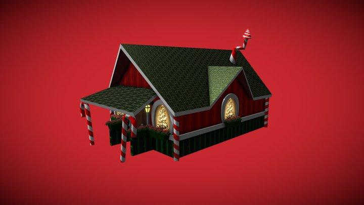 Santas House 3D Model