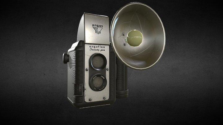 TLR Camera BLK 3D Model
