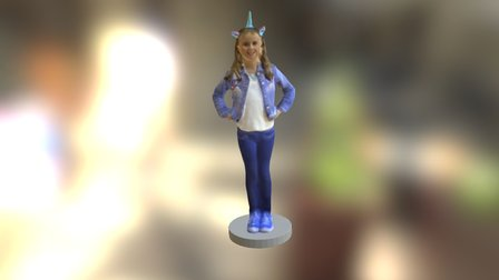 Sanja Oldridge 3D Model