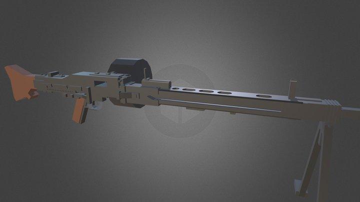 Minecraft - MG42 3D Model