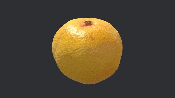 Tangerine 3D Model