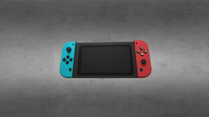 Nintendo Switch 128x 3D Model