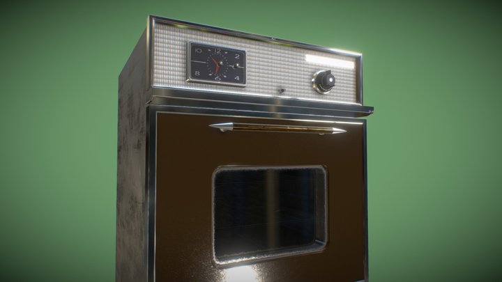 Oven 1960s-70s : Wedgewood-Holly 3D Model