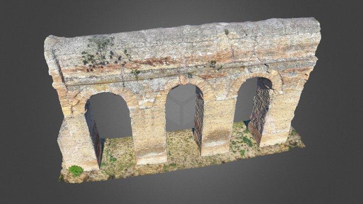 Anio Novus - Roman aqueduct 3D Model