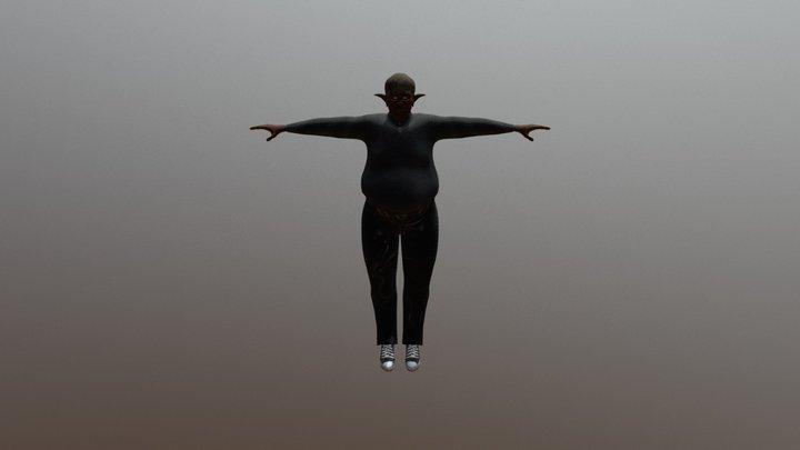 Tyrone 3D Model