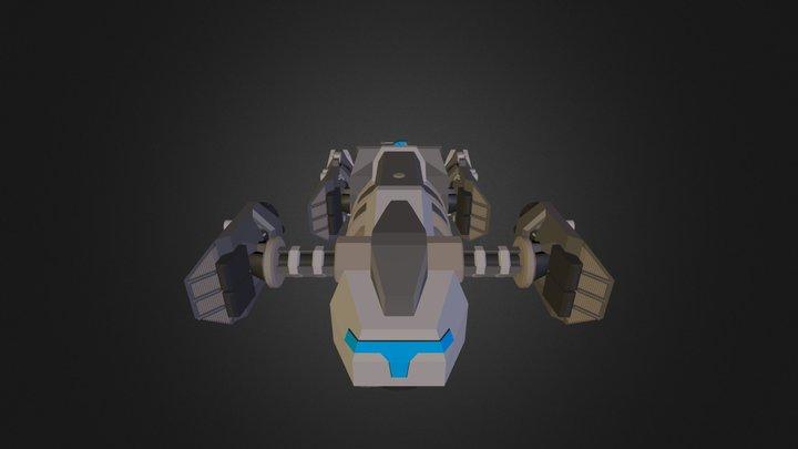 Arbalest attack 3D Model
