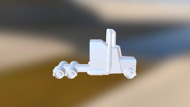 Environmentally Friendly Semi 3D Model