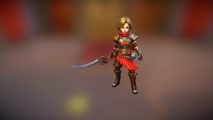 RPG Rogue01 3D Model