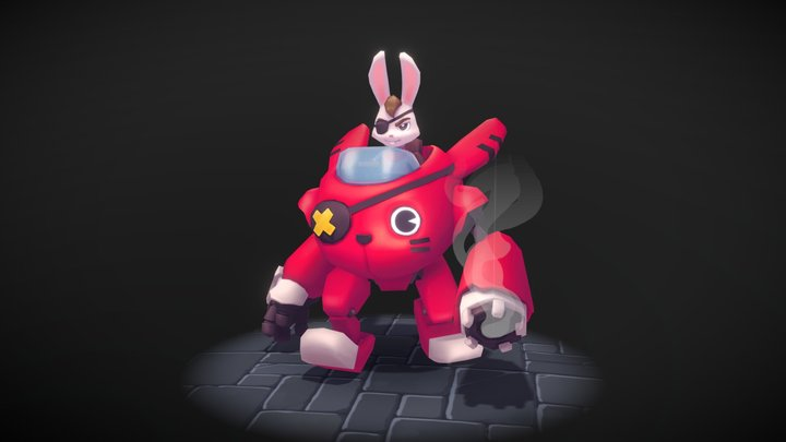 Zack Attack! 3D Model