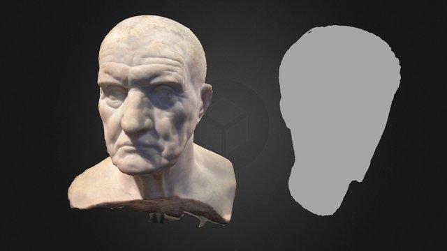 Two Roman Portraits 3D Model