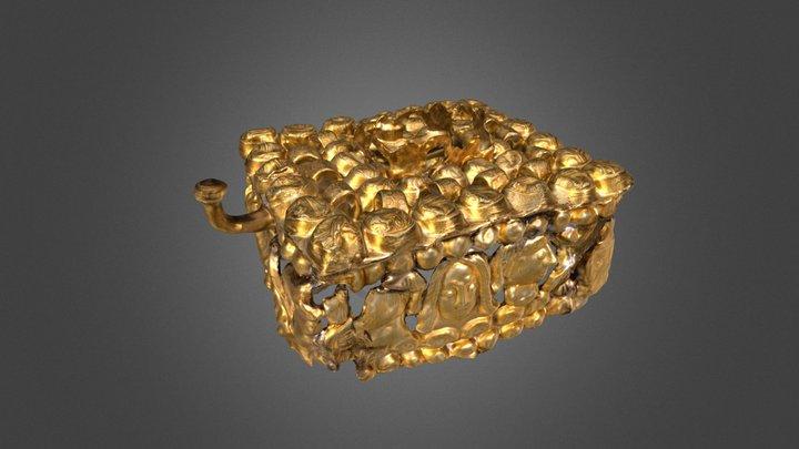 Box Brooch / Dobozfibula, Dunapataj 3D Model