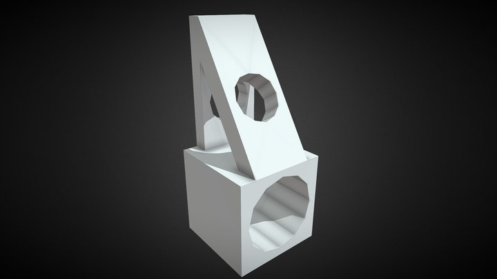 PIEZA 3D 3D Model