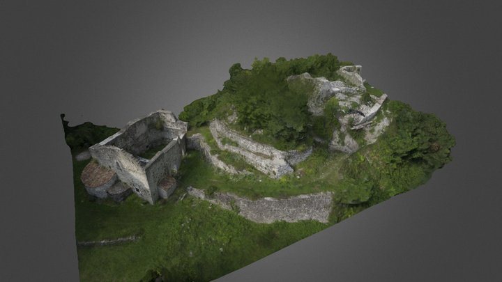 Château de Montfort 3D Model