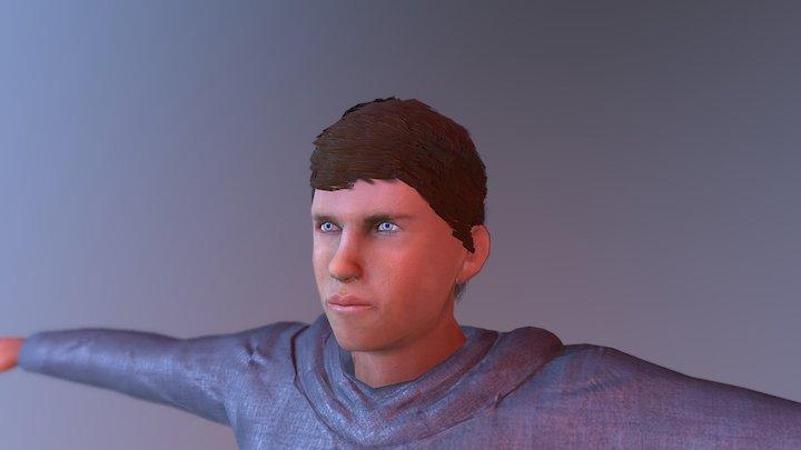Braiden 3D Model